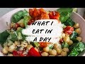 HEALTHY WHAT I EAT IN A DAY! // SUPER BASIC BUT DELISH // VEGAN