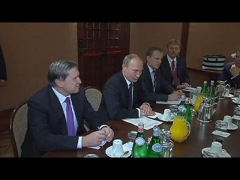 Russia gas threat sends chill through EU-Asia summit