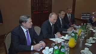 Russia gas threat sends chill through EU-Asia summit