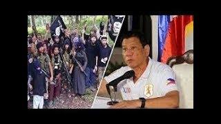 President Duterte sumabog sa galit pinag-utos na bombahin ang mga kota ng Abu-sayaff