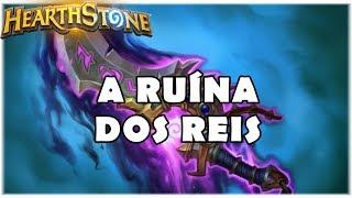 HEARTHSTONE - A RUÍNA DOS REIS! (STANDARD KINGSBANE MIRACLE ROGUE)