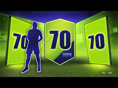 70 x 2 PLAYER PACKS! - FIFA 18 Path To Glory!!