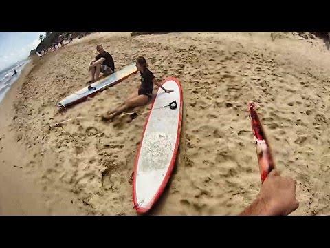 SURFING ENCUENTRO BEACH