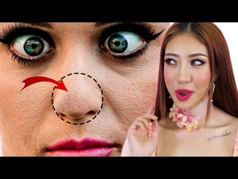 Xử Lý Mũi Bị Mốc Khi Makeup - Stop Cakey Nose Foundation [Vanmiu Beauty][Vanmiu Beauty]