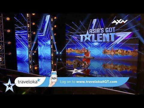 Fitri Cerado Traveloka Award Nominee   Asia's Got Talent 2017