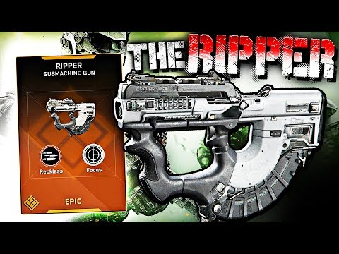 THE RIPPER RETURNS & RIPS EVERYONE! (Infinite Warfare Epic Weapon Gameplay)