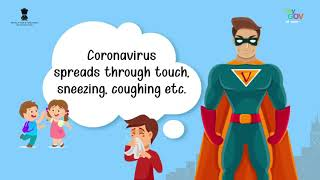 Meet Vaayu who clears all queries related to Coronavirus   healthy tips to defeat #COVID 19