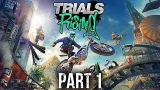 Trials Rising Early Gameplay Walkthrough Part 1 - TRIALS IS BACK !!!