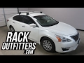 Nissan Altima Sedan with Rhino-Rack 2500 Vortex Roof Rack Crossbars