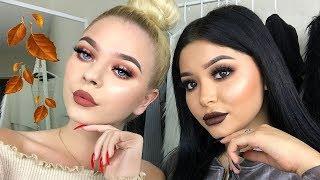 Easy Fall Makeup Looks ft. Tina Halada | Daisy Marquez