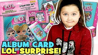 LOL surprise ALBUM CARD Apriamo RACCOGLITORE, BUSTINE E  VIP PACKET SORPRESE LOL | MartaVi