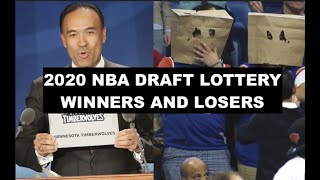 The Winners And Losers Of The 2020 NBA Draft Lottery