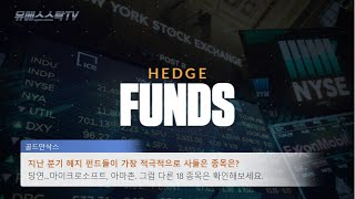 [요약] 헤지 펀드들이 지난 분기 가장 적극적으로 사들…