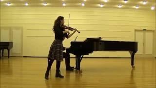 W. A. Mozart Violin concerto n.4 1st mov, Cadenza Nazlı Avcı