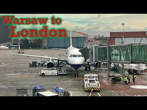 Full Flight: British Airways A320 Warsaw to London (WAW-LHR)