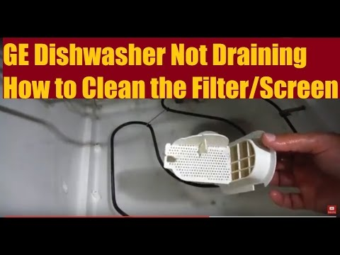 GE Dishwasher Not Draining - How to Fix DIY