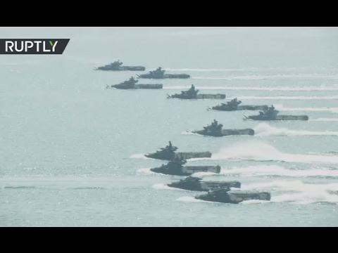 Cobra Gold Op: US, Asian allies amphibious assault drills in Thailand
