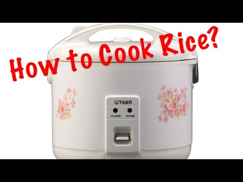 How To Cook Rice ? ( Tiger Brand )