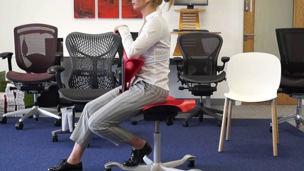 hag posture chair virtual reality capisco puls office youtube