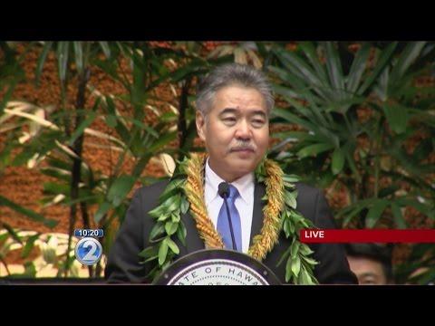 Gov. David Ige's State of the State Address