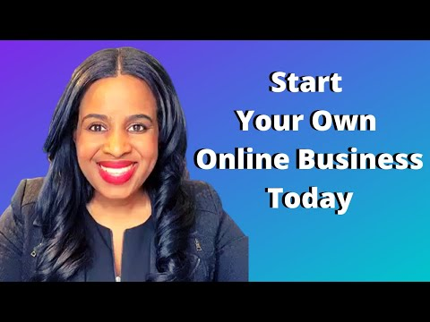 Work From Home: Start Your Own Online Business Today