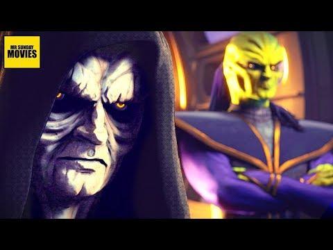 The Emperor, Darth Vader & Xizor - Shadows Of The Empire