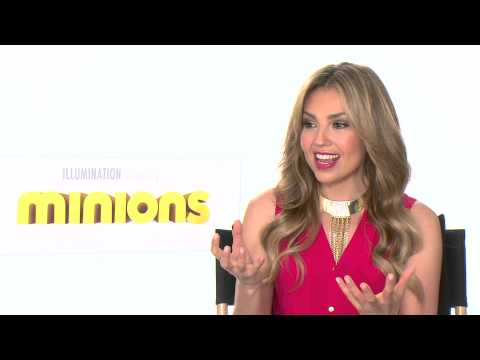 Thalia habla con Alex Medela sobre Minions