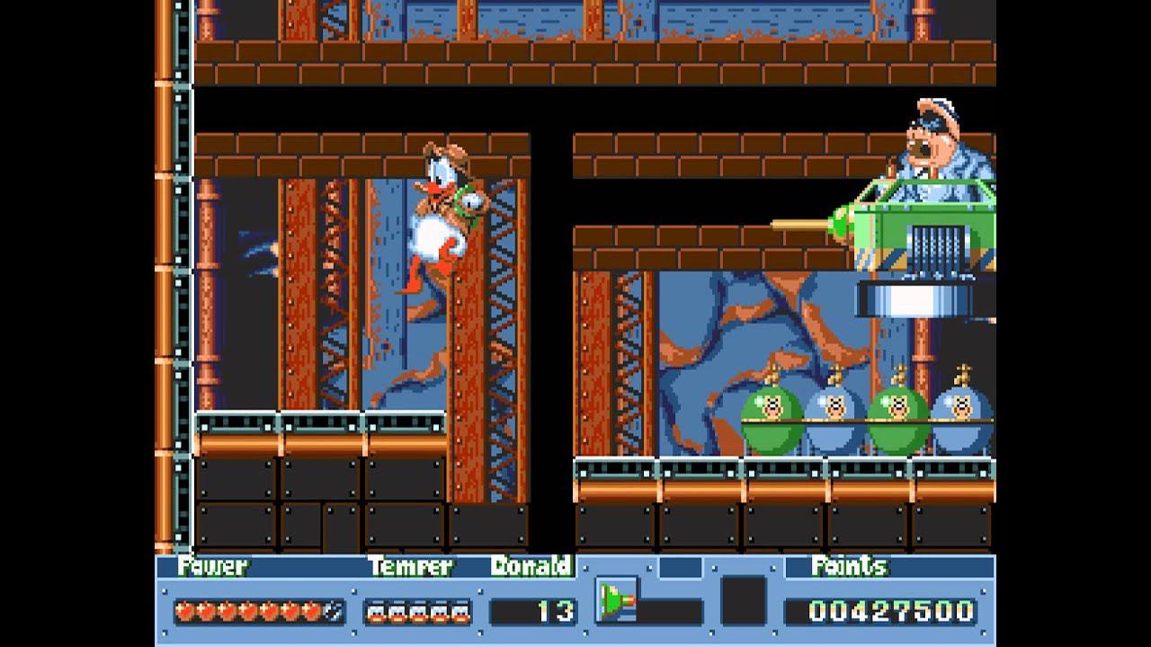 [Análise Retro Game] - QuackShot estrelando Pato Donald - Mega Drive Maxresdefault