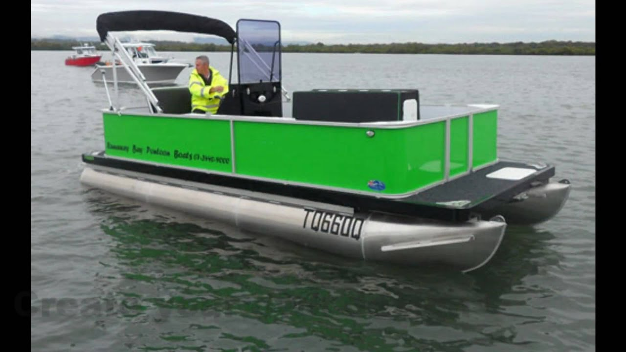 Pontoon Boats For Business Or Pleasure Youtube