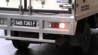 ONLY IN MALAYSIA NO. 7 - Ice truck feeds restaurant with exhaust gas