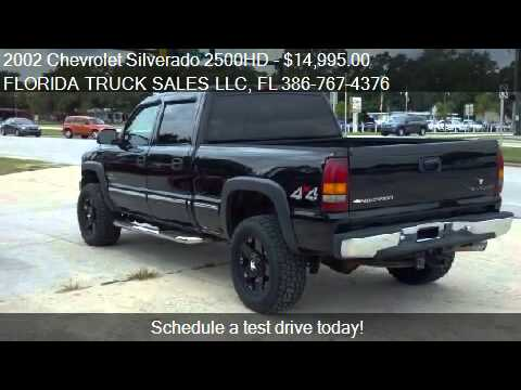 2002 chevrolet silverado 2500hd lt 4dr crew cab 4wd sb for. Black Bedroom Furniture Sets. Home Design Ideas