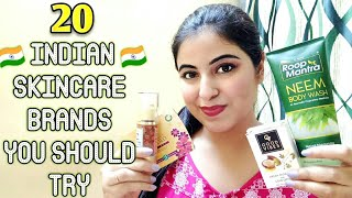Part 4 Made in India 20 Skincare Brands you should Try || New Skincare Brands || Payals Palette