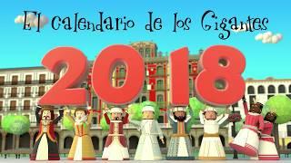 El calendario de los Gigantes de Pamplona 2018