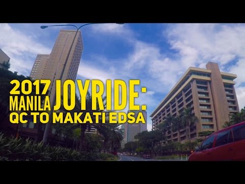 2017 Manila Joyride Quezon City to Makati via EDSA 15 Minutes by HourPhilippines.com