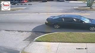 Small Plane Has Emergency Landing on a Florida Street Strikes Two Cars