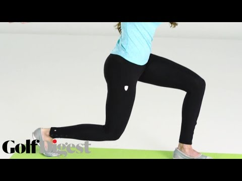 Holly Sonders' Bare Essentials Workout: The Lower Body   Golf Digest