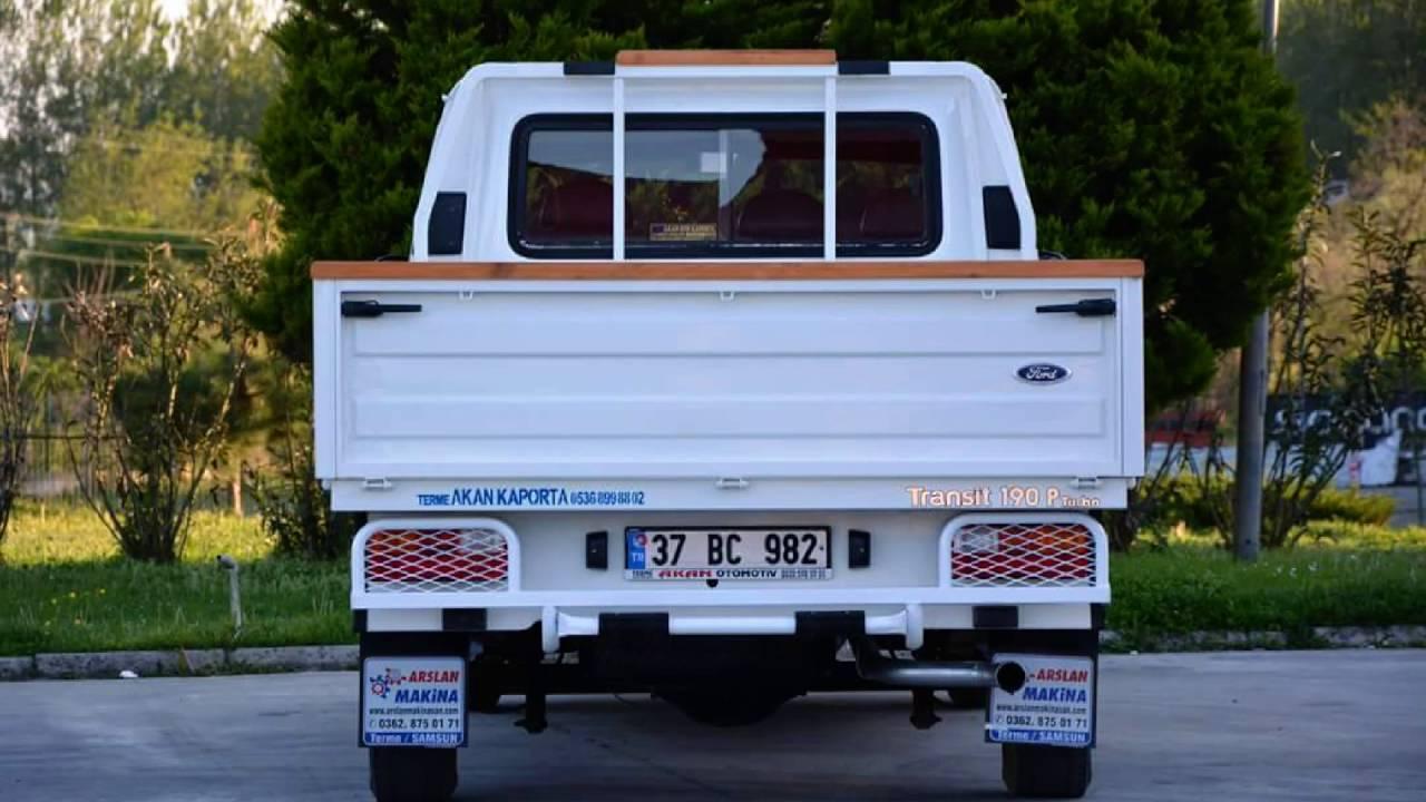 ford transİt 190, 120 pİkap Çİft kabİn kasa - youtube