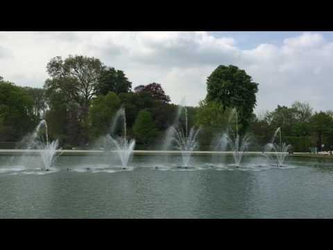 Versailles musical fountain show