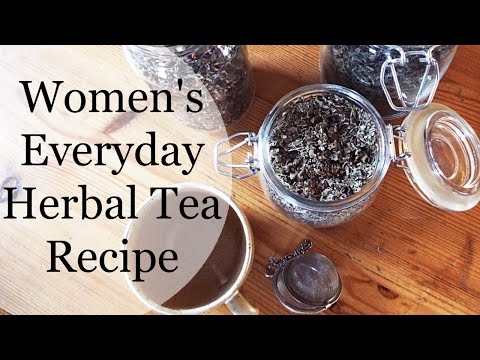 Women's Everyday Herbal Tea Recipe