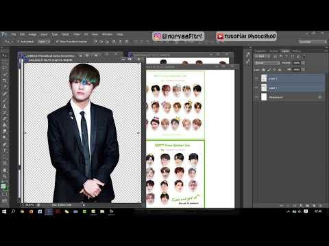 Membuat desain logo di photoshop itu mudah kalau kalian tau triknya,,logo di video ini sangat cocok .