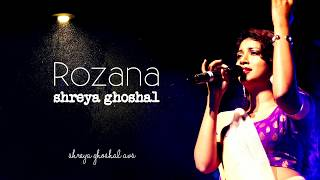 Rozana | Naam Shabana | Shreya Ghoshal Lyrics AVS