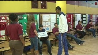 Chicopee students showcase science projects
