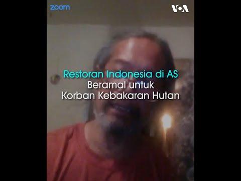 Restoran Indonesia Bantu Korban Kebakaran Di AS