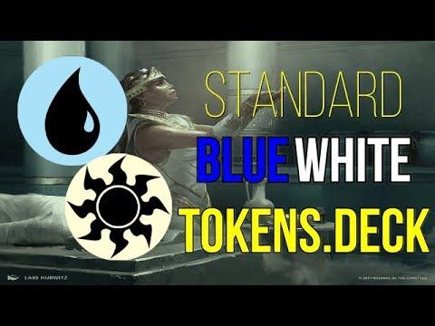 Standard Blue White Token.Deck Deck Tech With Jordan