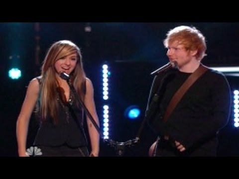 The Voice Season 6 (USA) : Christina Grimmie & Ed Sheeran Perform in The Finals
