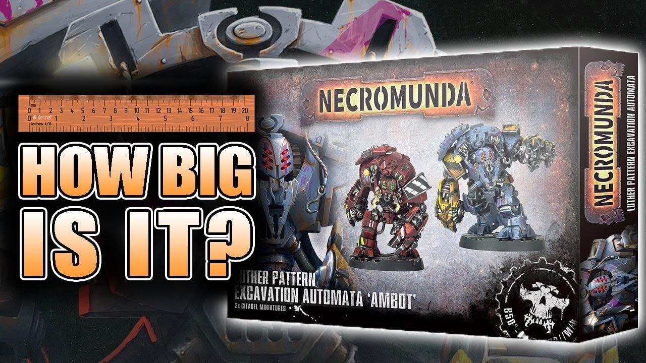 Warhammer 40,000 Necromunda Luther Pattern Excavation Automata Ambot Singles