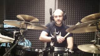 DRUM COVER - THE TURNING POINT - TOTO