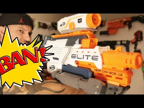 Thumbnail: NERF N-Strike Cam ECS-12 | NERF Gun Review & Unboxing