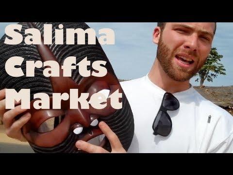 Senga Bay Crafts Market - Malawi, Africa