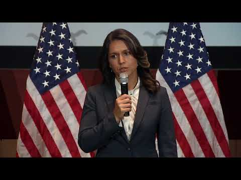 There Was No Way I Could Stay Home -- Rep. Tulsi Gabbard